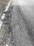 Сельские дороги ухудшают Стоковые Изображения RF