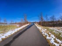 Сельский взгляд ландшафта стоковая фотография rf