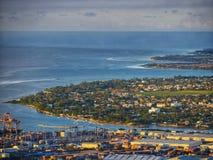 Сельский городской ландшафт Маврикия Стоковая Фотография