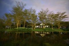 сельский дом Африки южный стоковая фотография