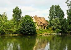 сельский дом Нормандия Стоковая Фотография RF