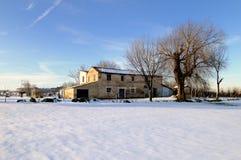сельский дом старый Стоковая Фотография RF
