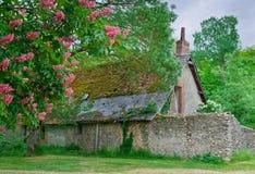 сельский дом старый стоковая фотография