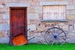 сельский дом старый Стоковое Изображение RF