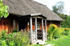 сельский дом страны традиционный Стоковое фото RF