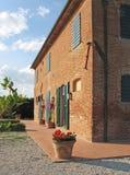 сельский дом tuscan Стоковые Фото