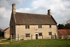 Сельский дом XVII век Стоковое фото RF