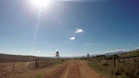 Сельский ландшафт в Южной Африке видеоматериал