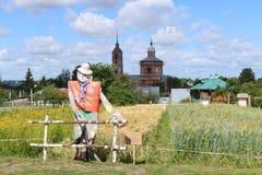 Сельский ландшафт древнего города Suzdal Стоковые Изображения