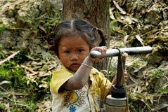 Сельский ребенок стоковое фото rf