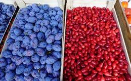 Сельский рынок в Санкт-Петербурге, России Стоковое Фото