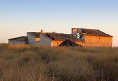 Сельское испанское сельскохозяйственное строительство Стоковое Изображение RF