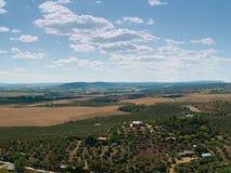 Сельское frome ландшафта выше южной Испании Стоковая Фотография RF