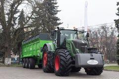 Сельскохозяйственная техника в аграрной ярмарке стоковые изображения rf