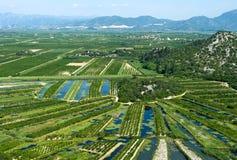 сельскохозяйственный район стоковые фото