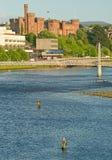 семги реки ness рыболовства Стоковое Изображение