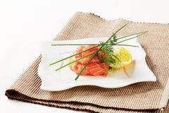 семги tartare стоковые фото