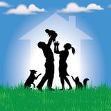 Семейная жизнь Стоковое Изображение