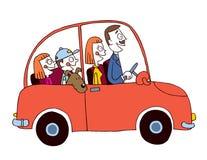 Семейный автомобиль Стоковое Изображение