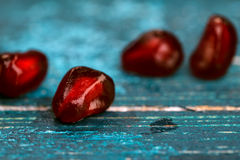 Семена гренадина гранатового дерева Стоковое Изображение RF