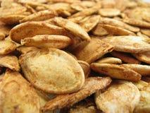 семена зажаренные в духовке тыквой Стоковое фото RF