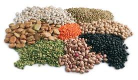 семена зерна хлопьев стоковое изображение rf
