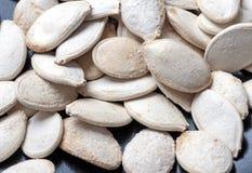 Семена посоленные тыквой Стоковые Фотографии RF