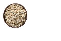 Семена пшена внутри могут Стоковая Фотография RF