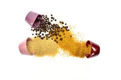 Семена, специи, зерно, бодрствование поднимающее вверх и смешанное друг с другом Стоковые Фотографии RF