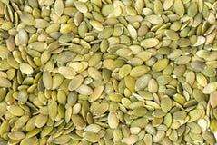 семена тыквы макроса Стоковые Фото