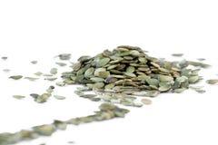 Семена тыквы. стоковая фотография