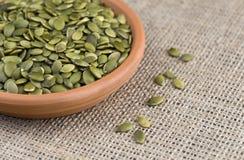 семена тыквы pepita Стоковые Фотографии RF