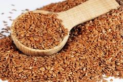 Семена льна Брайна Стоковое фото RF