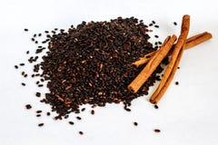 Семена Chia с циннамоном Стоковые Фотографии RF