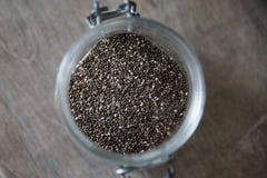 Семена Chia Стоковая Фотография