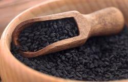 Семена Nigella стоковое изображение rf