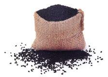 Семена Nigella стоковые изображения