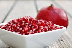 семена pomegranate шара Стоковая Фотография RF