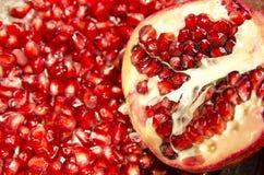 Семена Pomegranate Стоковые Изображения RF