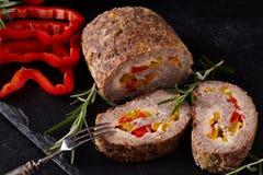 Семенить крупный план хлебца мяса стоковая фотография