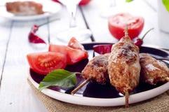Семенить kebab овечки Стоковые Изображения RF