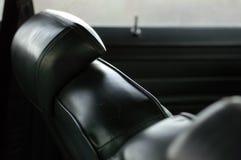 семидесятые годы интерьера автомобиля Стоковые Фото