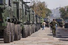 семидесятая годовщина высвобождения Белграда Стоковое Изображение RF