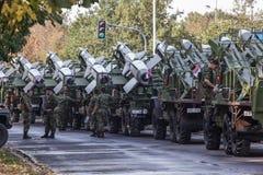 семидесятая годовщина высвобождения Белграда Стоковые Изображения