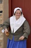 семнадцатая женщина centurey стоковые фотографии rf
