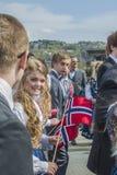 Семнадцатое из может, национальный праздник Норвегии Стоковая Фотография RF
