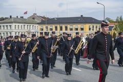Семнадцатое из может, национальный праздник Норвегии Стоковое фото RF