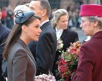семьи Дании королевские Стоковые Изображения
