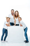 семьи детей много семьи счастливые мое портфолио 2 Стоковые Фотографии RF