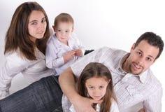 семья большая Стоковое Изображение